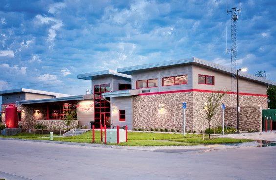 Newton Fire Station #3, Newton, KS