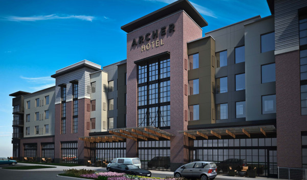 Lk Architecture Archer Hotel Burlington Ma