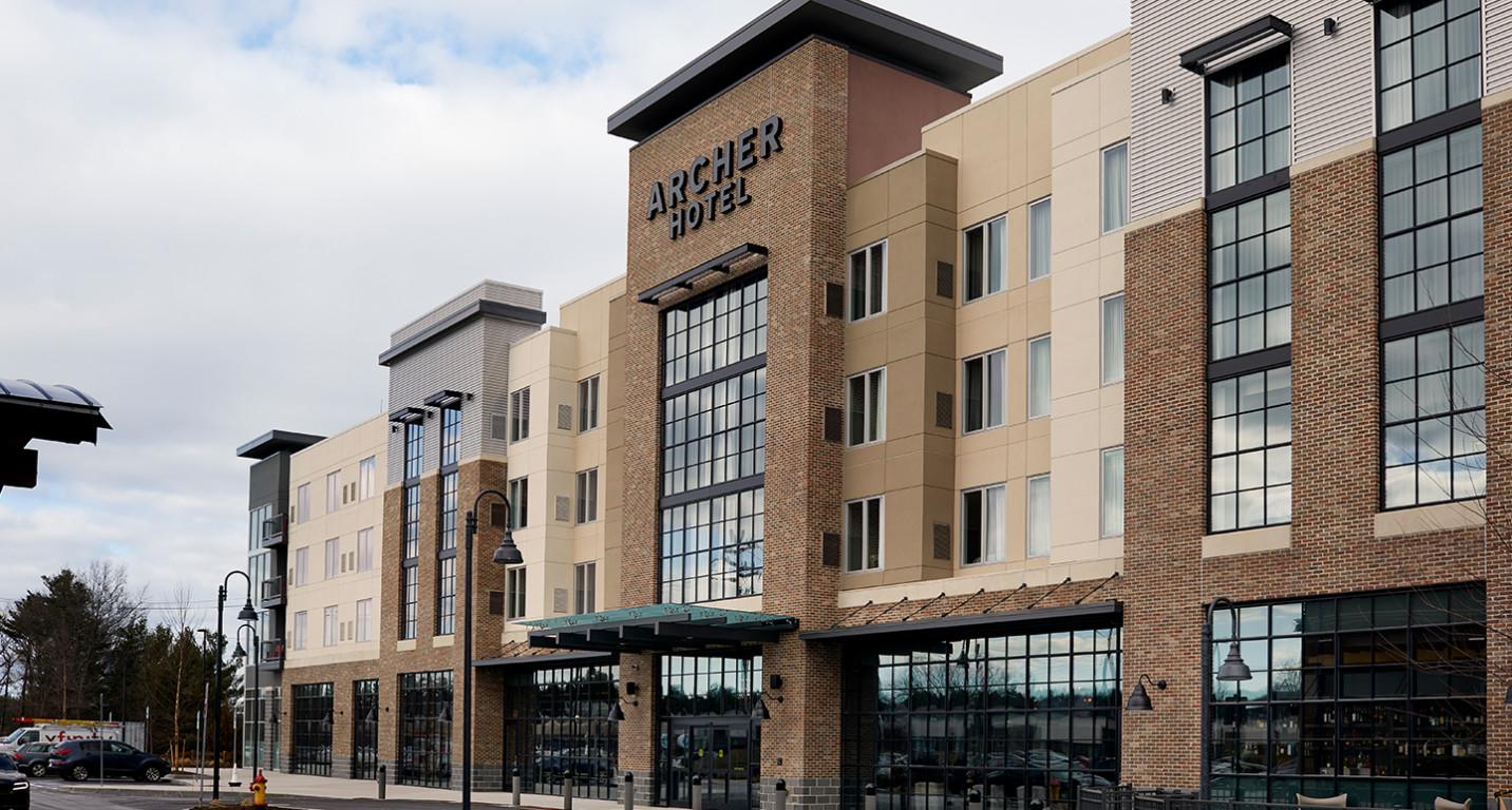 LK Architecture Hospitality Archer Hotel Burlington MA 02
