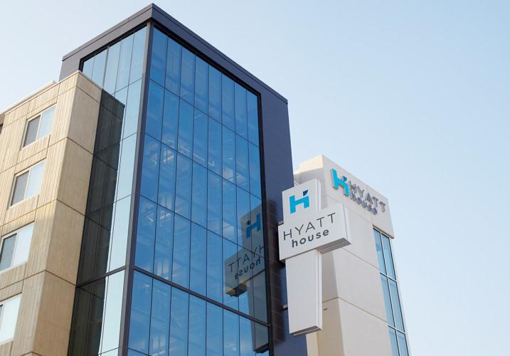 LK Architecture Hospitality Hyatt House Fairfax Merrifield VA 02