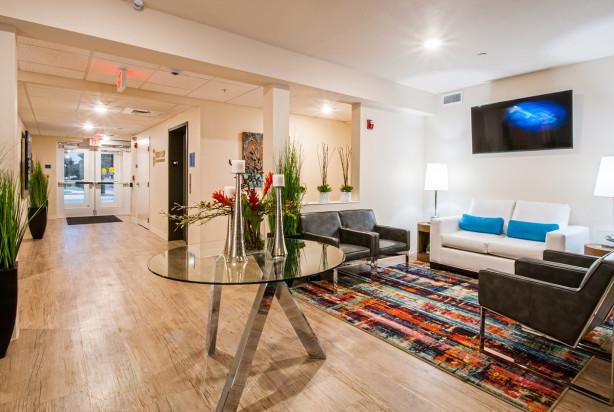 Lk Architecture Hospitality Waterwalk Hotel Apartments Wichita Ks 12