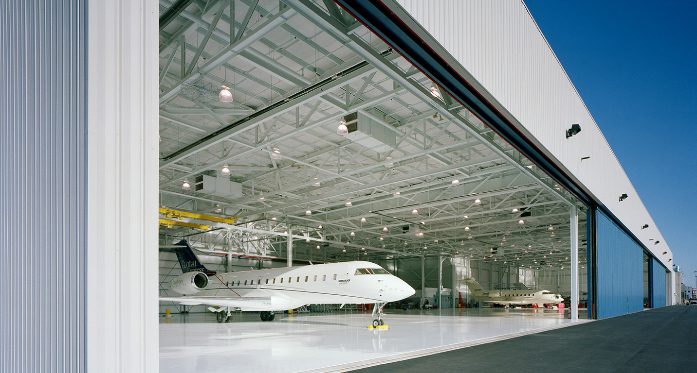LK Architecture Industrial Bombardier Global Express Windsor Locks CT 01