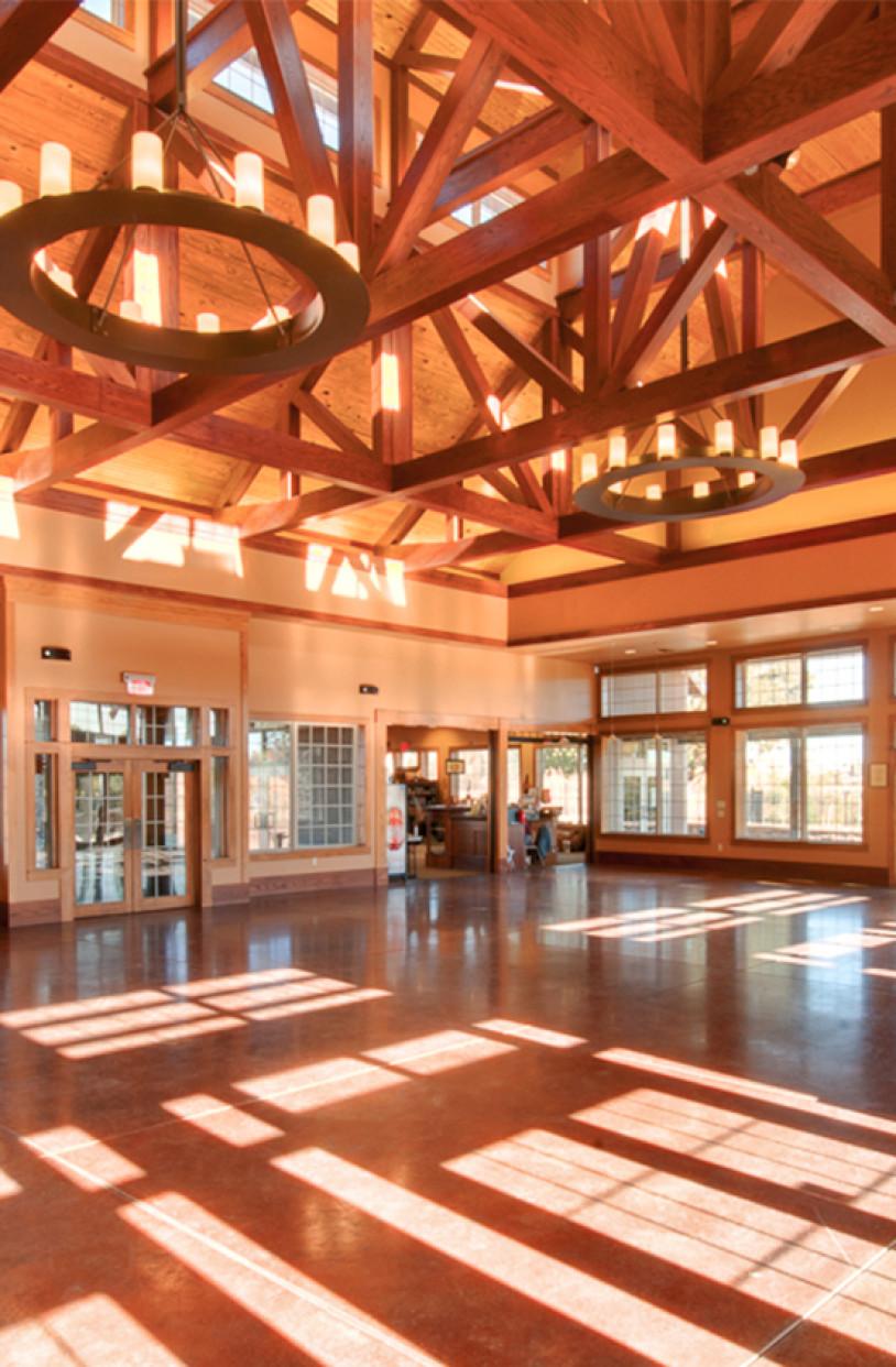 Lk Architecture Institutional Cowtown Visitors Center Wichita Ks 12