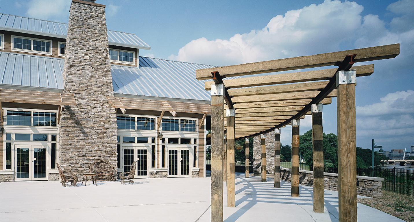 Lk Architecture Institutional Cowtown Visitors Center Wichita Ks 13
