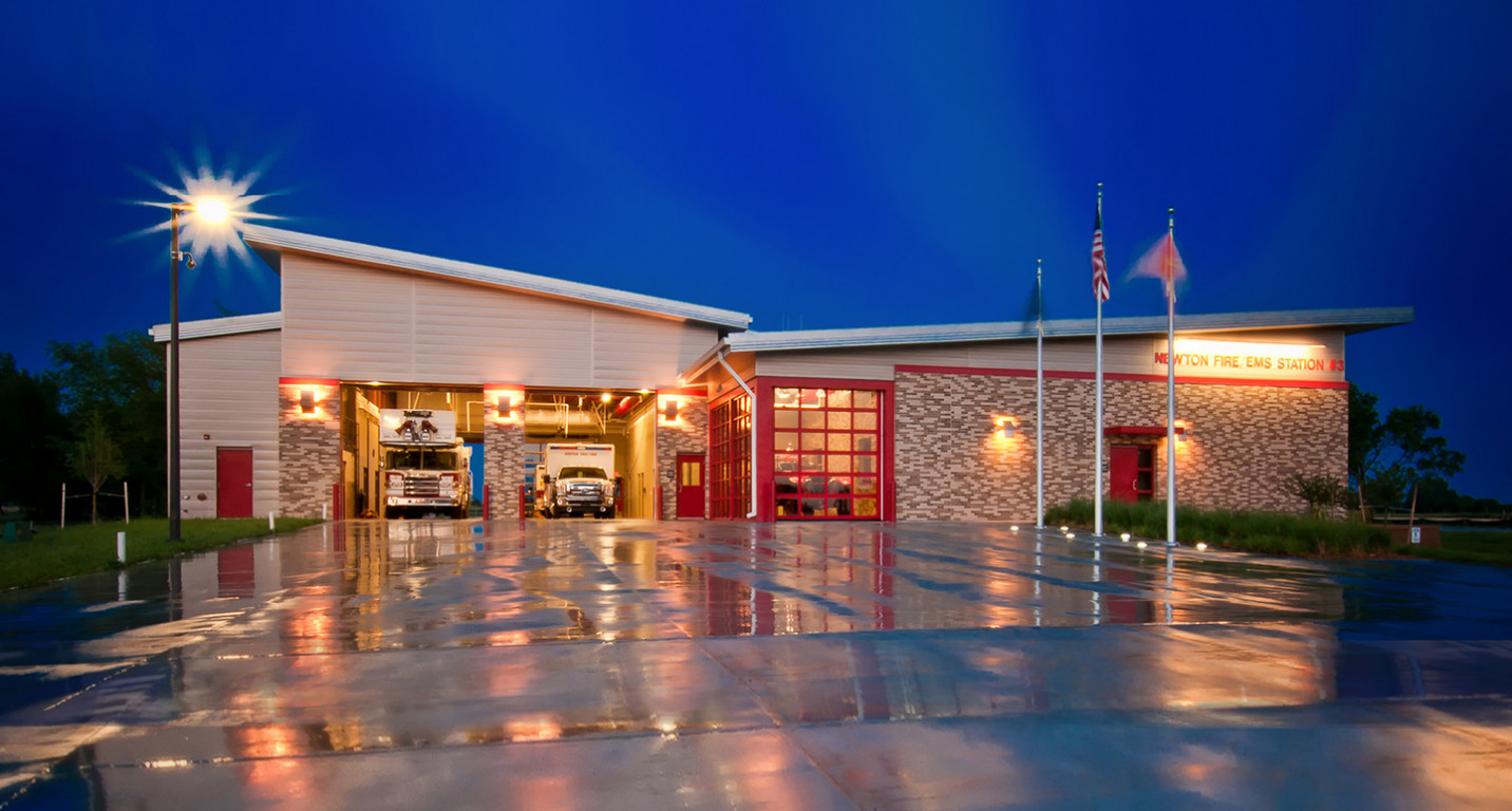 LK Architecture Institutional Newton Fire & EMS Newton Kansas 13