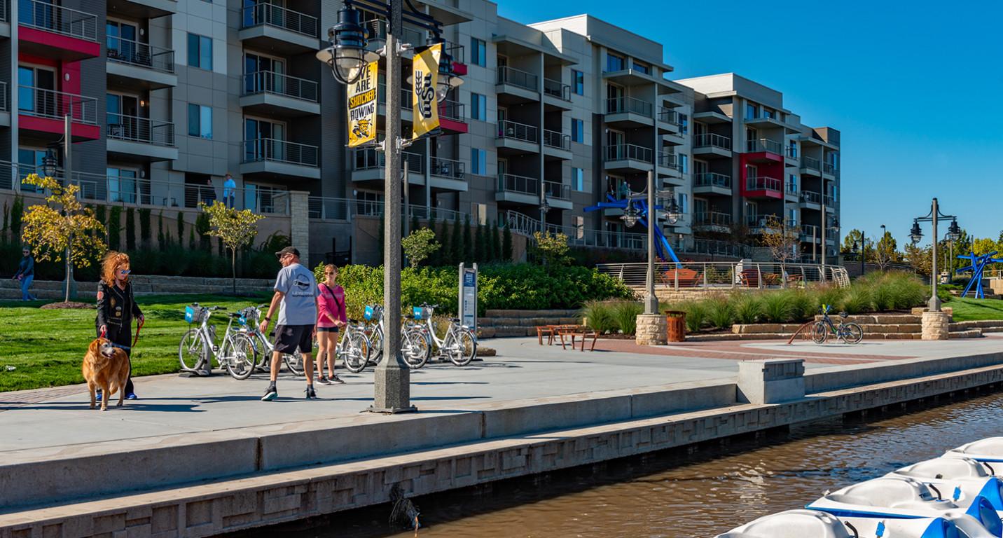 LK Architecture Landscape Architecture Arkansas River Corridor River Vista Wichita KS 02