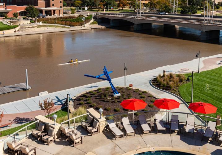 LK Architecture Landscape Architecture Arkansas River Corridor River Vista Wichita KS 04
