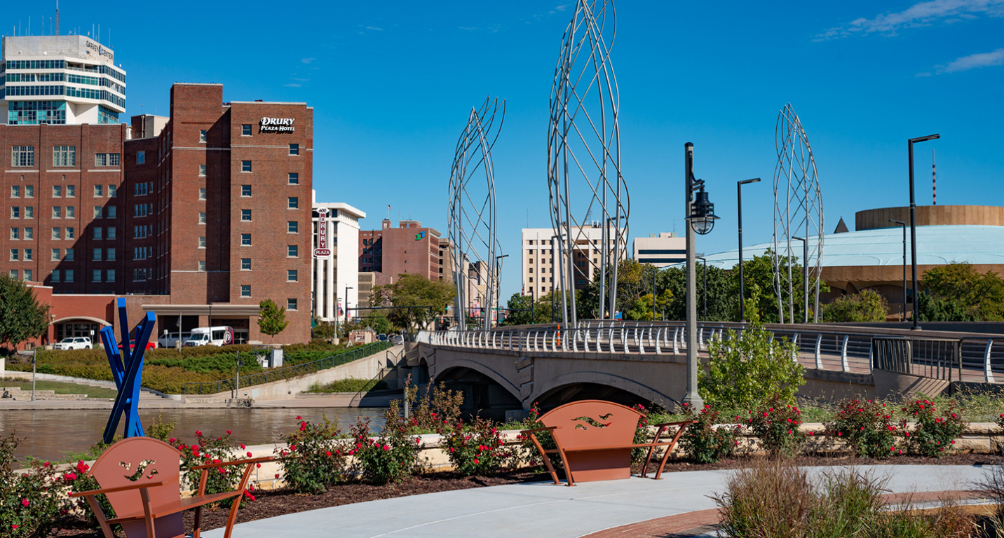 LK Architecture Landscape Architecture Arkansas River Corridor River Vista Wichita KS 05