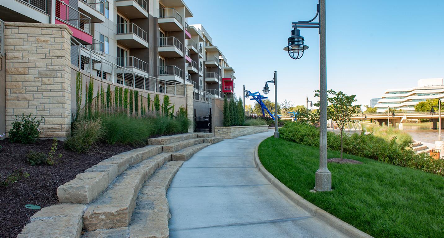 LK Architecture Landscape Architecture Arkansas River Corridor River Vista Wichita KS 07