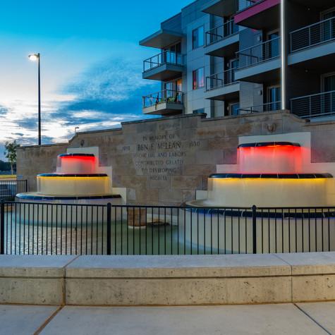LK Architecture Landscape Architecture Arkansas River Corridor River Vista Wichita KS 08