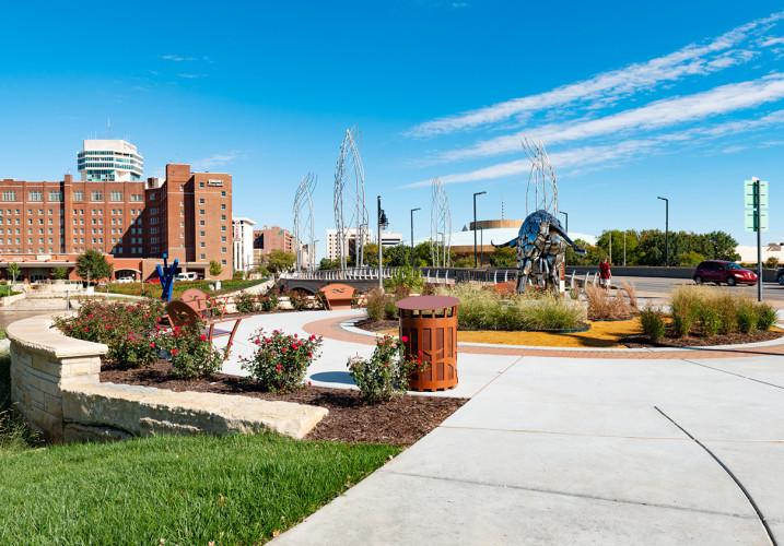 LK Architecture Landscape Architecture Arkansas River Corridor River Vista Wichita KS 11