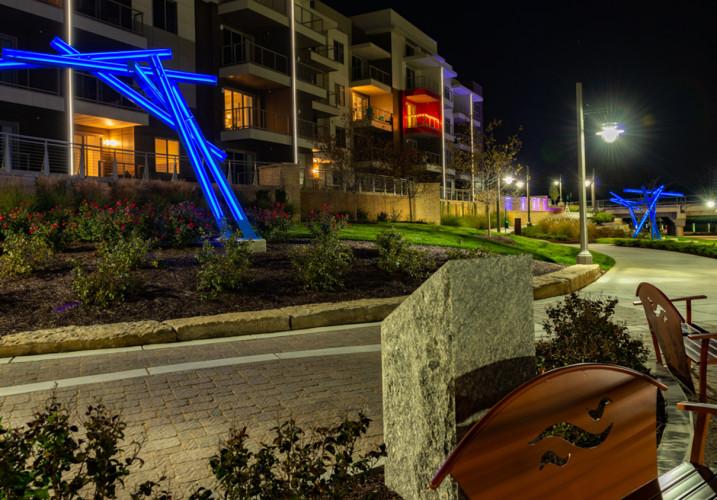 LK Architecture Landscape Architecture Arkansas River Corridor River Vista Wichita KS 14