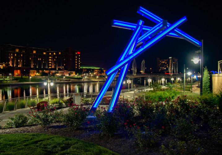 LK Architecture Landscape Architecture Arkansas River Corridor River Vista Wichita KS 15