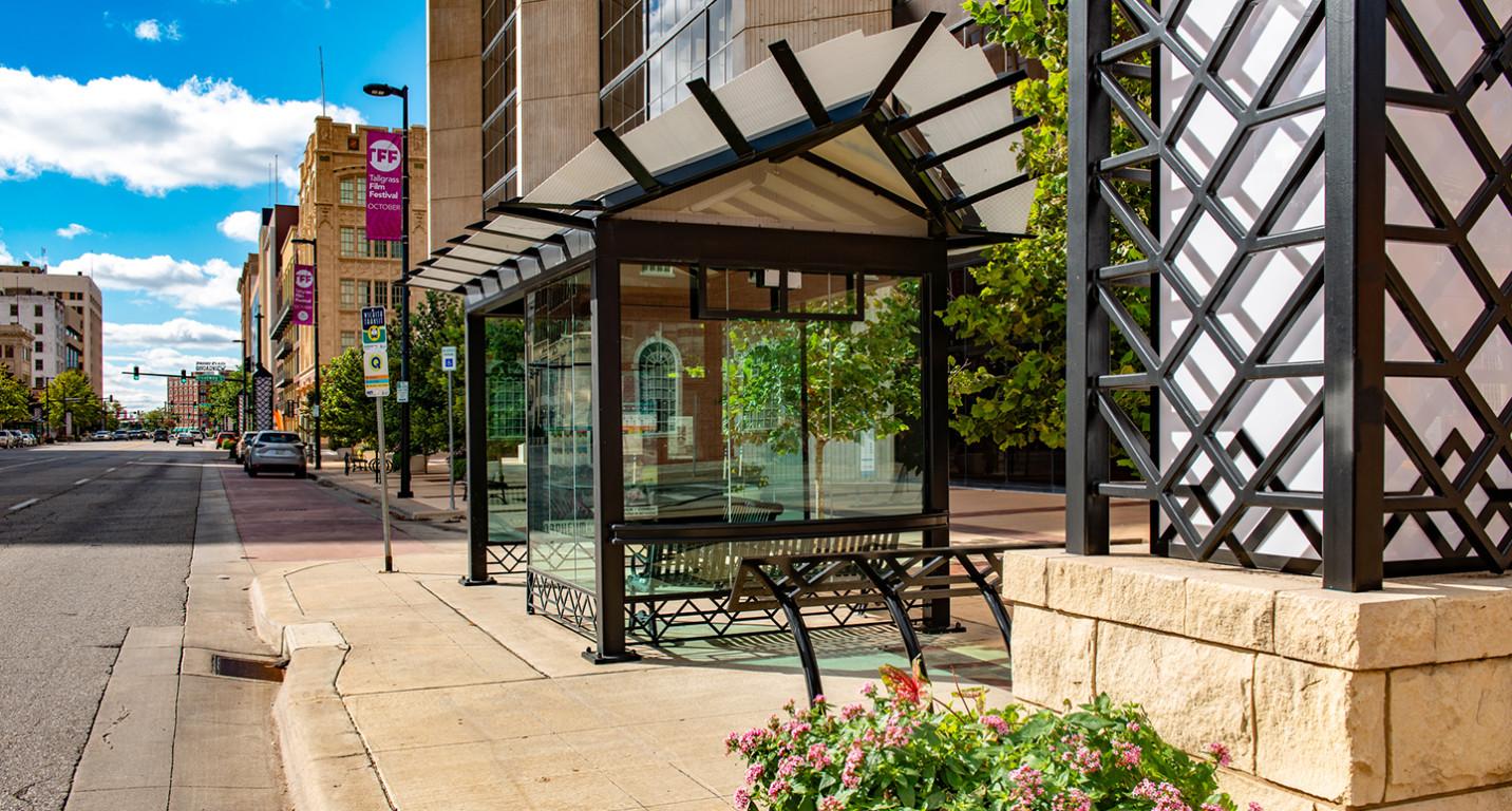 LK Architecture Landscape Architecture Douglas Ave Improvements Wichita KS 01