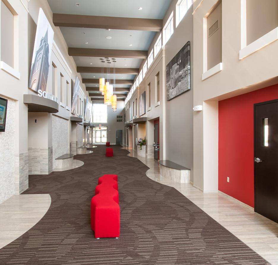 LK Architecture Meridian Conference Center Newton Kansas 01