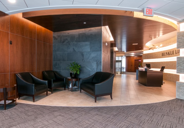 LK Architecture Office Interiors Hinkle Law Firm Wichita KS 05