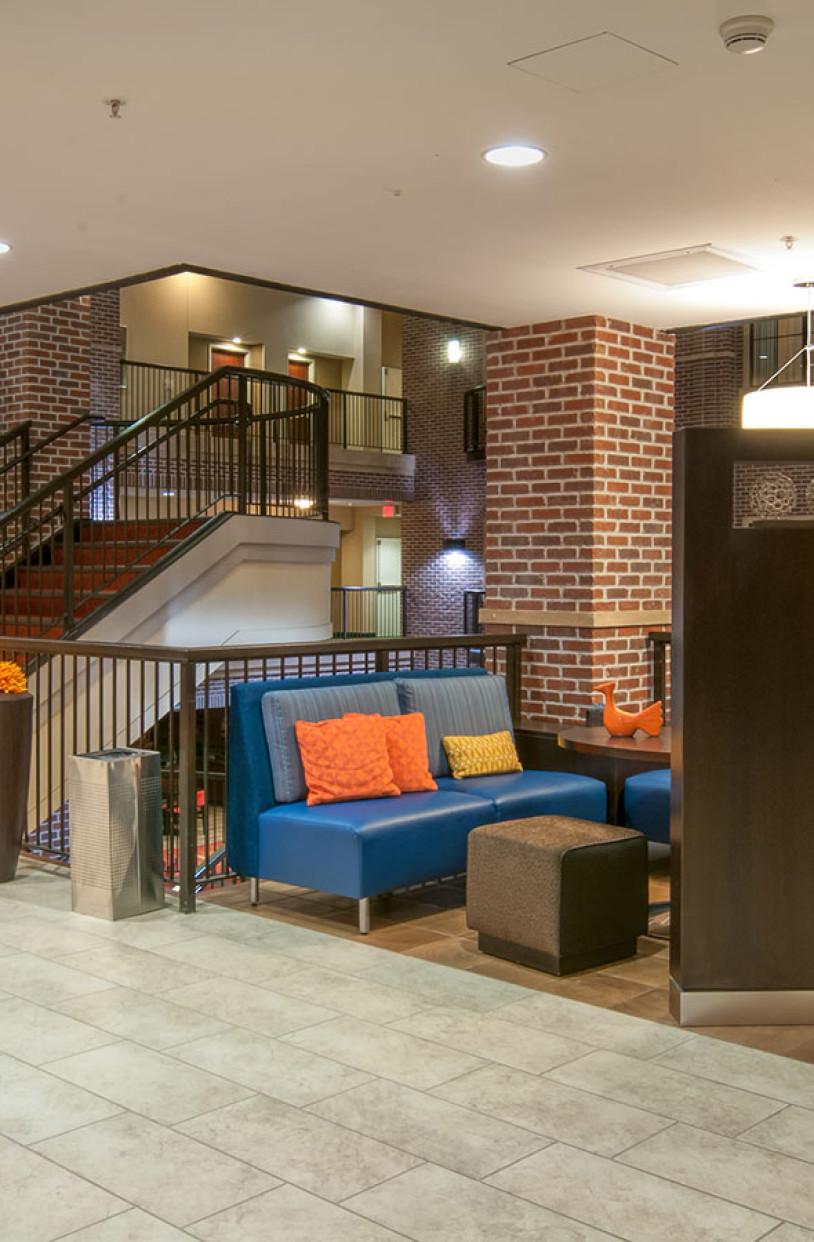 LKArchitecture Hospitality Courtyard WichitaKS 1