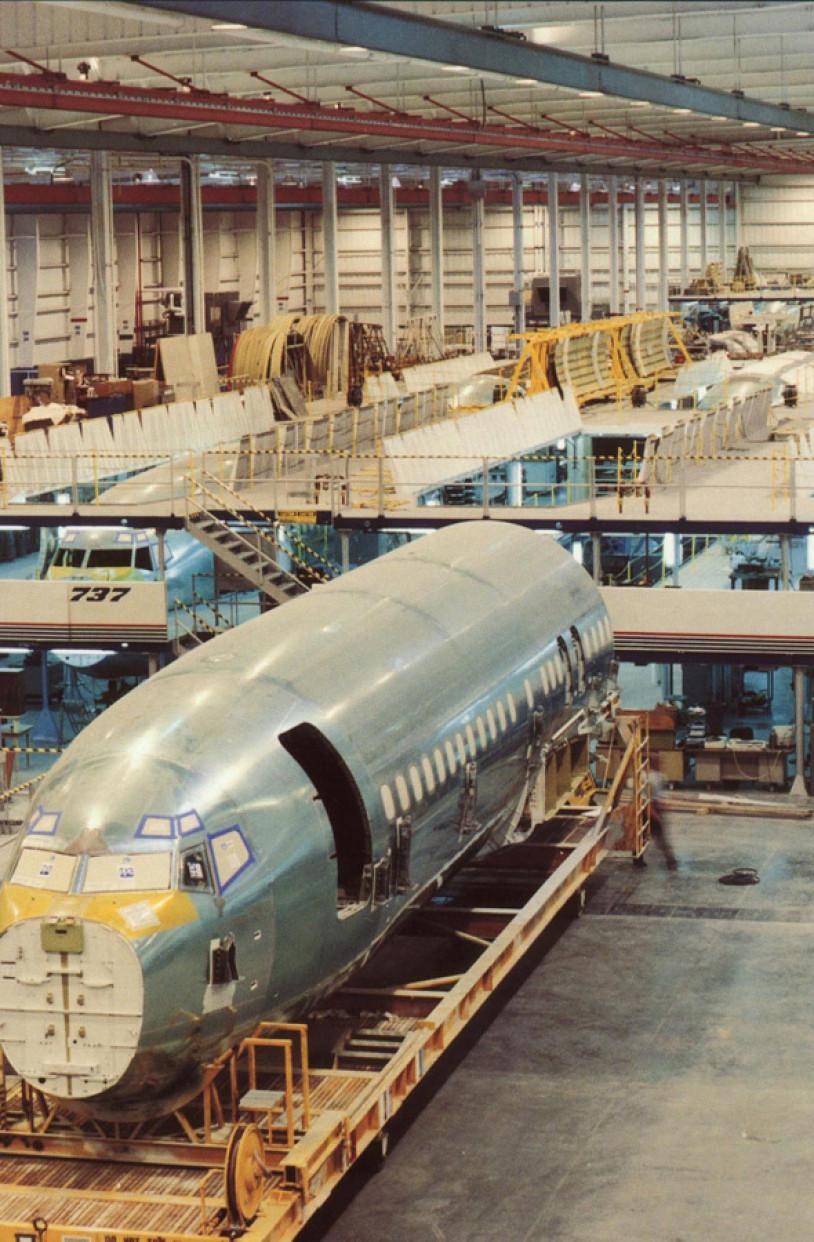 LKArchitecture Industrial BoeingNacelle&AssemblySupport WichitaKS 3