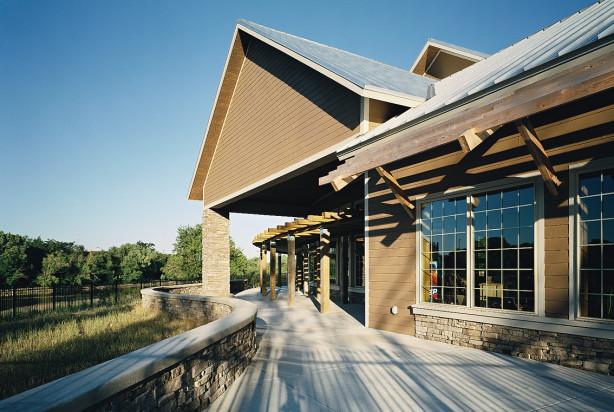 LKArchitecture Institutional CowtownVisitorsCenter WichitaKS 3