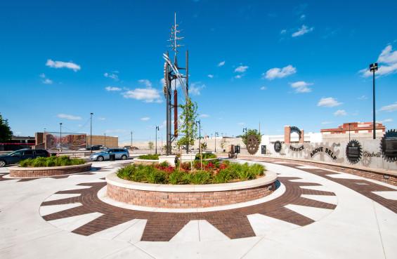 Coleman Parking Lot / Rotary Plaza, Wichita, KS