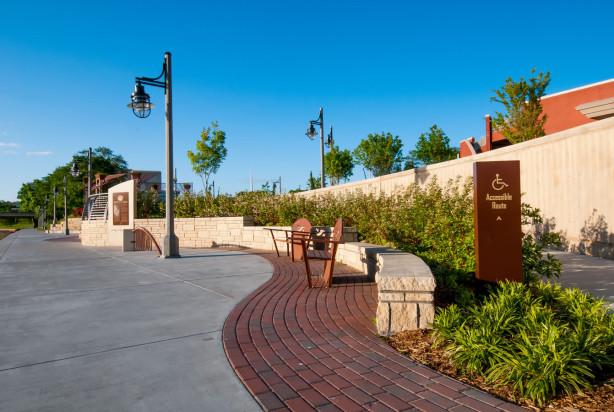 LKArchitecture Landscape DruryPlazaBroadviewHotel Wichita Kansas 19