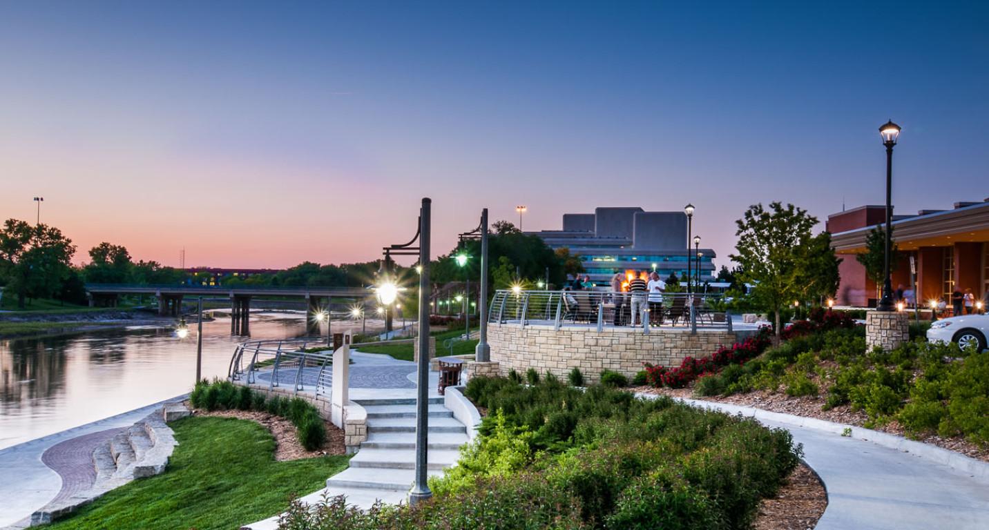 LKArchitecture Landscape DruryPlazaBroadviewHotel Wichita Kansas 36