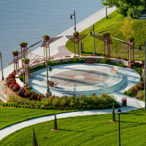 LKArchitecture Landscape DruryPlazaBroadviewHotel Wichita Kansas 6