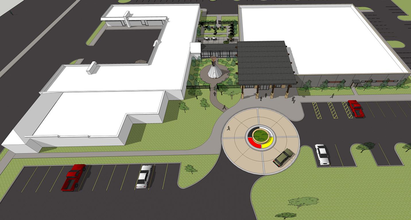 Lk Architecture Healthcare Hunter Health Clinic Wichita Ks 02
