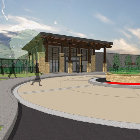 Lk Architecture Healthcare Hunter Health Clinic Wichita Ks 05