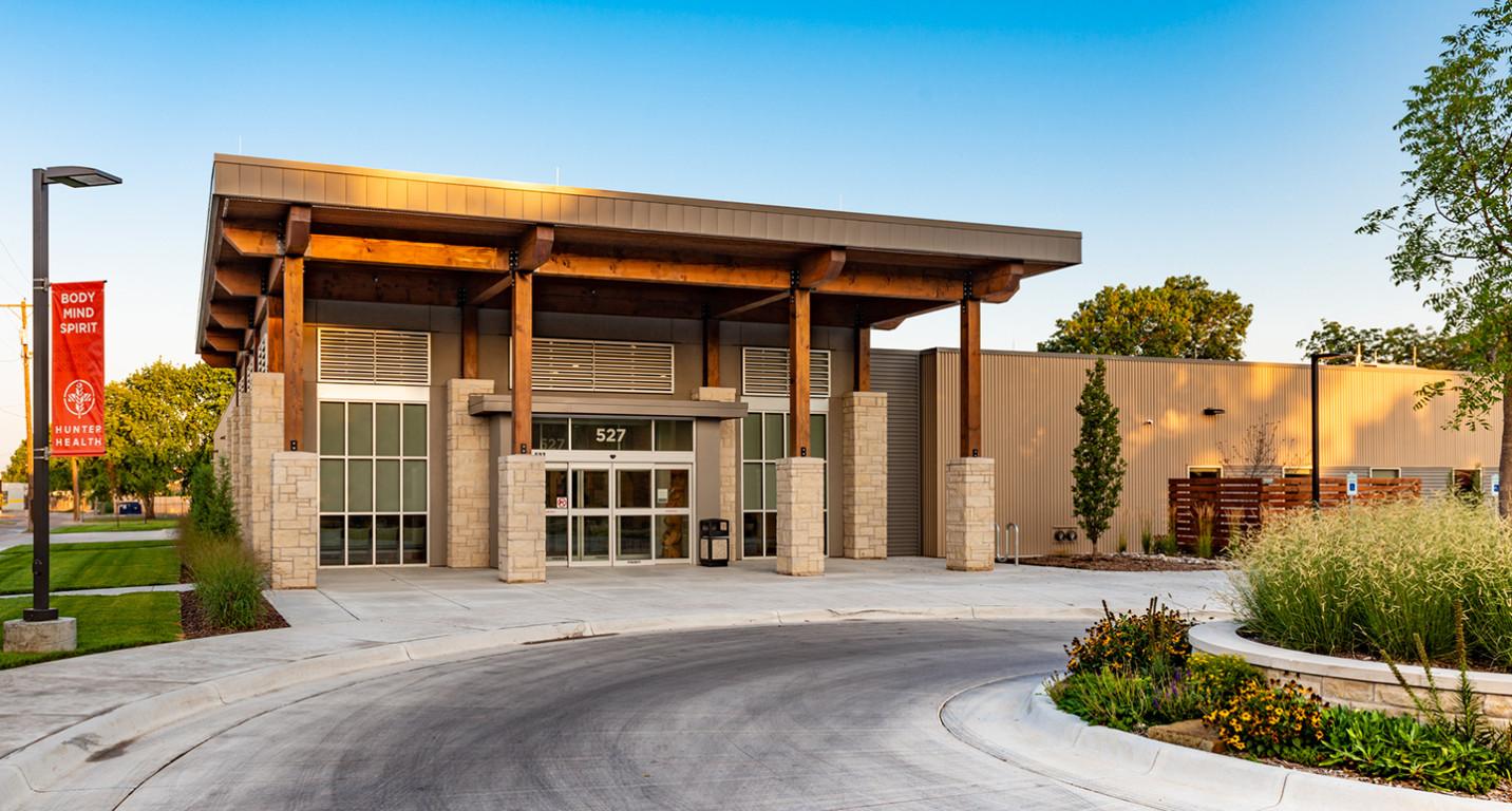 LK Architecture Healthcare Hunter Health Clinic Wichita KS 13