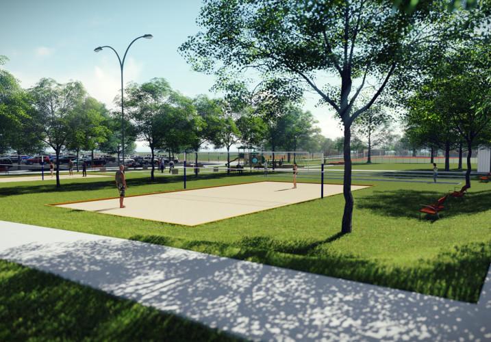 Lk Architecture Landscape Architecture Cheney Park Cheney Ks 06