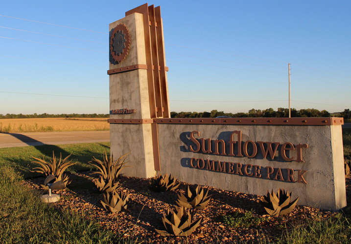 Lk Architecture Landscape Architecture Sunflower Commerce Park Bel Aire Ks 05