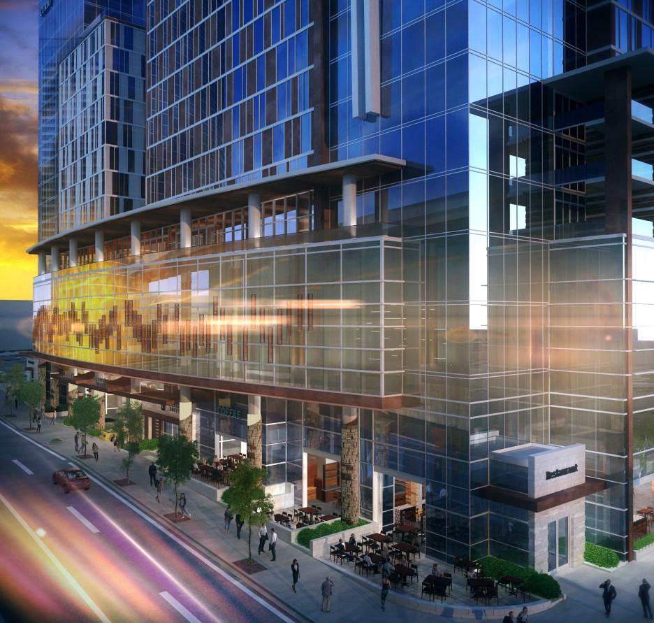 LK Architecture Hospitality Embassy Suites Curio Hotel Nashville TN 03