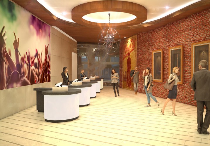 LK Architecture Hospitality Embassy Suites Curio Hotel Nashville TN 05