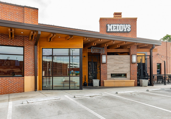 LK Architecture Restaurant Meddy's Wichita Kansas 08