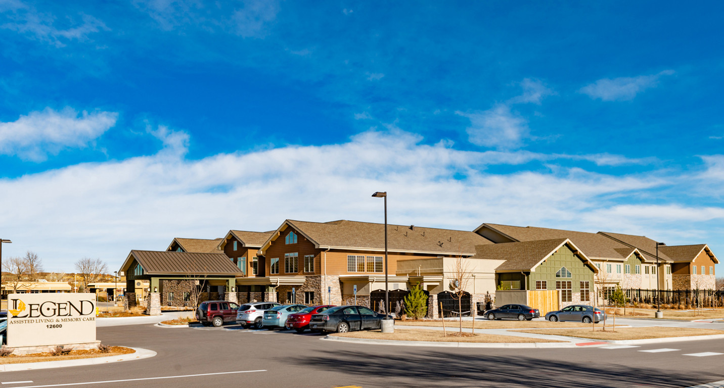 LK Architecture Healthcare Legend Senior Living Broomfield CO 02
