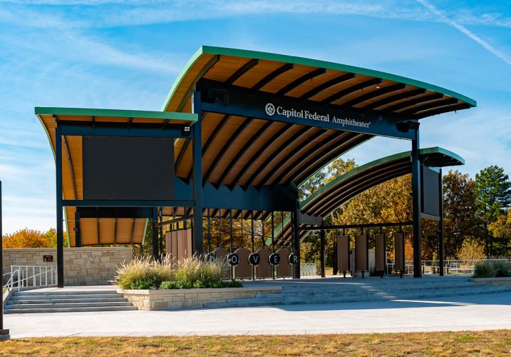 LK Architecture Landscape Architecture Capitol Federal Amphitheater Andover KS 02