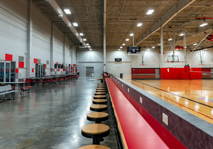 LK Architecture Specialty Projects Iowa West Fieldhouse Council Bluffs IA 05