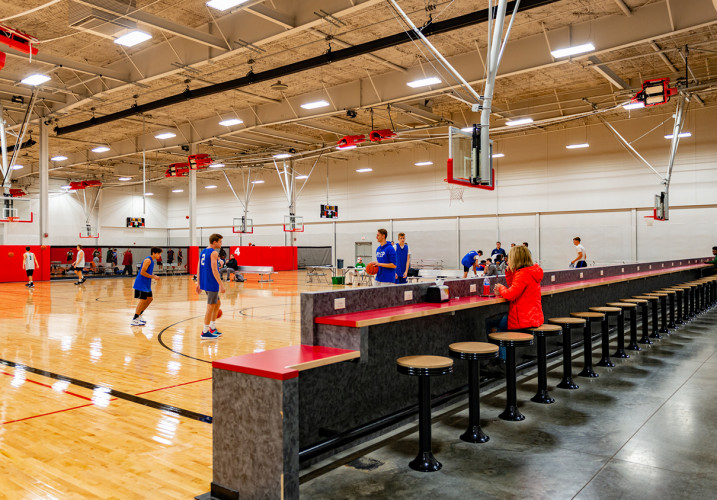 LK Architecture Specialty Projects Iowa West Fieldhouse Council Bluffs IA 07