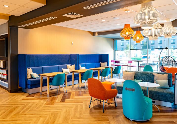 LK Architecture Hospitality Tru Hotel Wichita KS 06