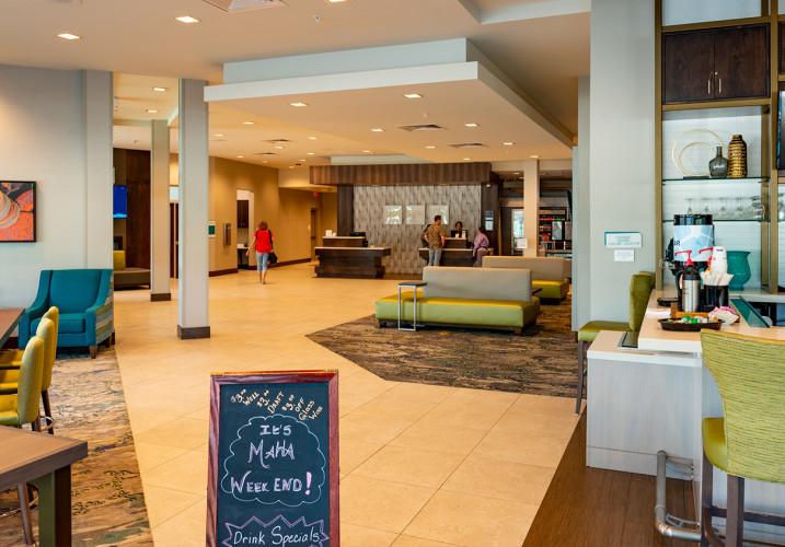 LK Architecture Hospitality Hilton Garden Inn Omaha NE Aksarben 08