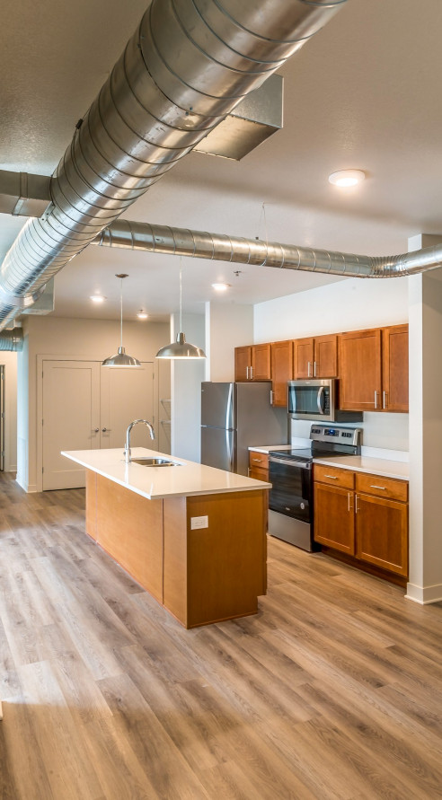 LK Architecture Multi Family Housing Avenue M Apartments Manhattan KS 06