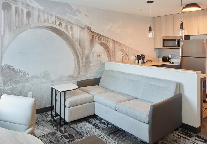LK Architecture Interior Design Residence Inn Richmond VA 02