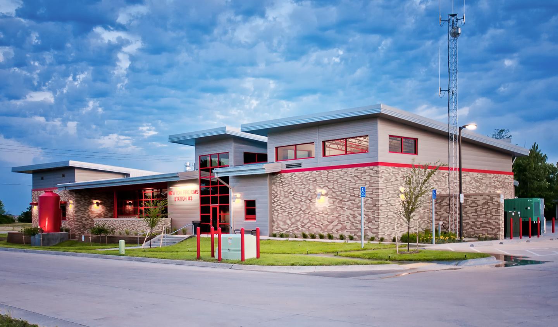 Lk Architecture Newton Fire Station 3 Newton Ks