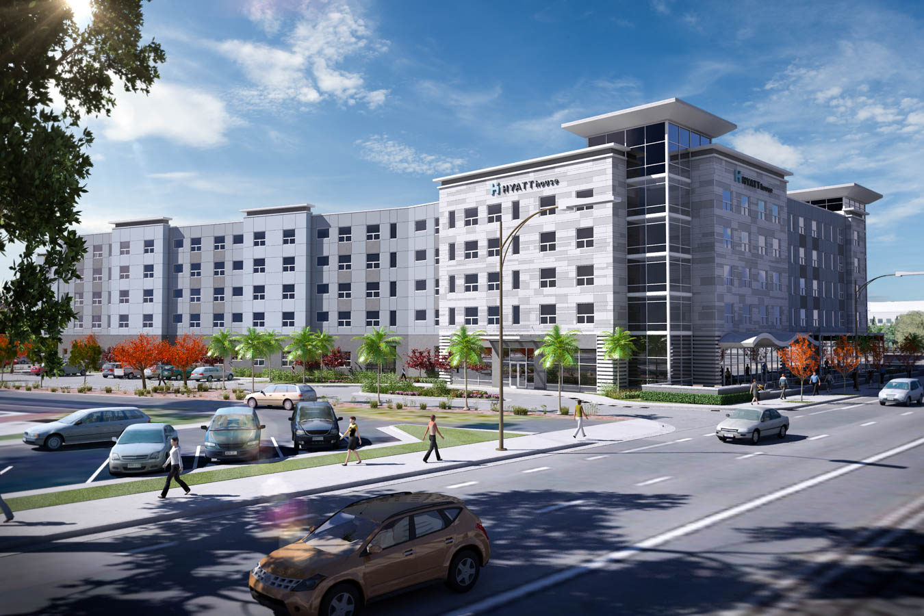Hyatt House + Hyatt Place, San Jose, CA