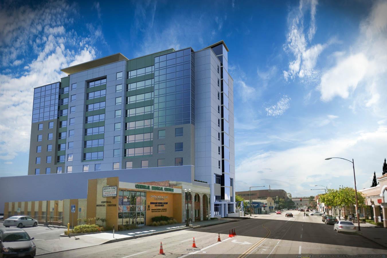 Lk Architecture Hyatt Place Glendale Ca