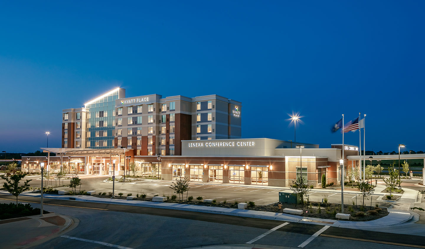 Lk Architecture Hyatt Place Lenexa Ks
